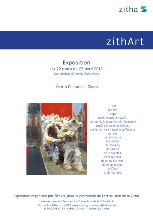 Affiche_invitation vernissage zithArt_YvetteGastauer