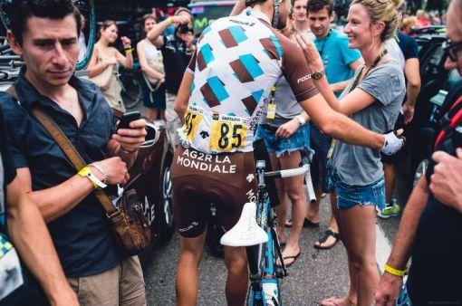 Dans les coulisses d'AG2R La Mondiale Cyclisme pendant le Tour de France 2014