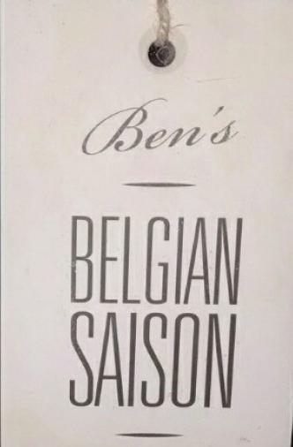 bens belgian saison1